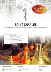Titelseite Extrablatt Saint Charles